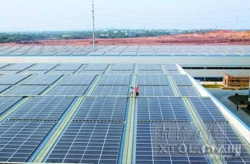 8mw屋顶光伏电站项目.同年,兴业太阳能20.