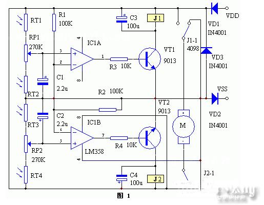 太阳能温度控制继电器接线图