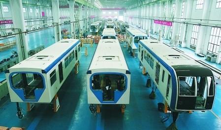 重庆长客城市轨道交通车辆有限责任公司列车组装车间