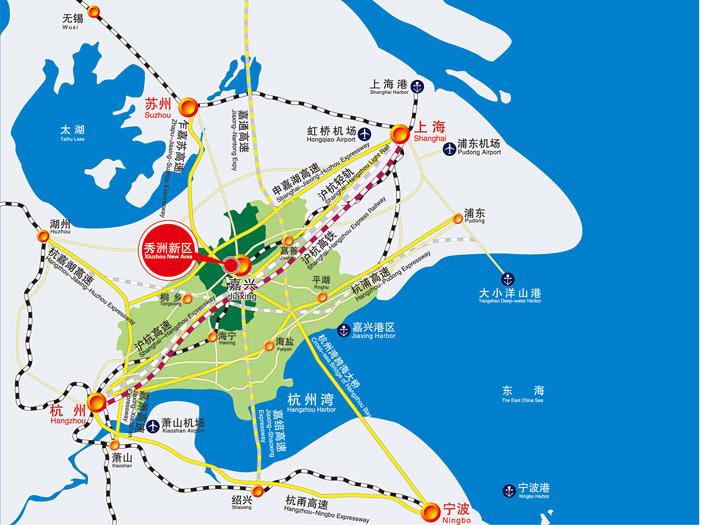 嘉兴光伏高新技术产业园区位于浙江省嘉兴市城市