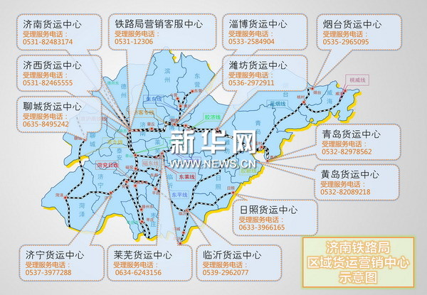 济南铁路货运改革 5种发货方式供选择