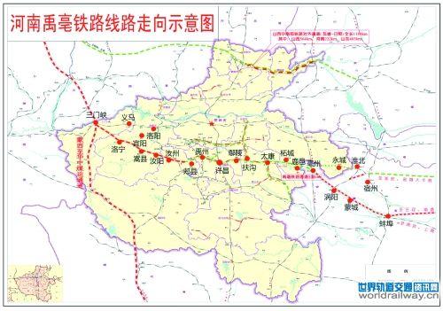 铁路地图高清版电子版