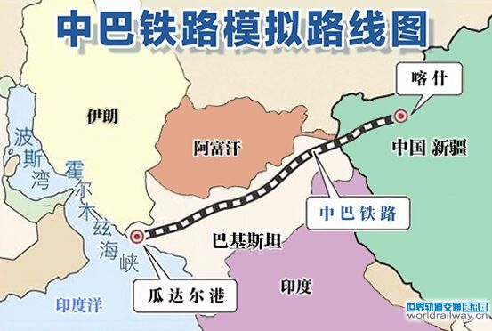 """建设中巴经济走廊,具有重要的战略、政治、军事意义,不仅事关两国能源安全问题,尤其对瓜达尔港地区和巴基斯坦国内经济的发展具有重要的战略意义,瓜德尔港也是未来巴基斯坦铁路网南端连接印度洋的重要入海口。一旦该铁路网北端连接中亚、东亚和中东的通道打通,泛亚铁路网计划就可再度启动。瓜达尔港可直接用于向中国西部地区运输石油和天然气,并削弱美国在阿拉伯海域的影响力。而且对中国的""""西部大开发""""战略产生积极的经济与政治影响,直接推动了中国西部地区与海湾地区的联系与经贸往来,促进中国在南亚和中东地"""