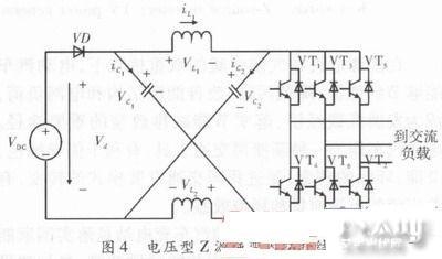 电动汽车充电站z源光伏并网发电装置