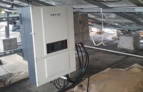 中国上海市某厂区20kW屋顶电站