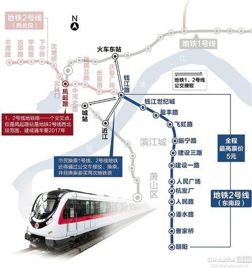 杭州地铁网络化运营时代即将到来 - 城轨最新信息 城图片
