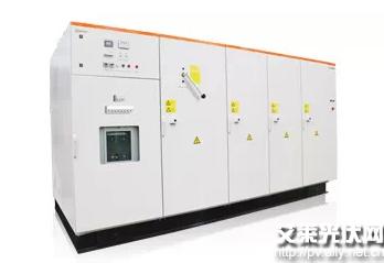 阳光电源推出单机功率7500kw的国内最大的风能变流器wg7500kfp