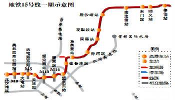 15号线一期(清华东路西口站—俸伯站)