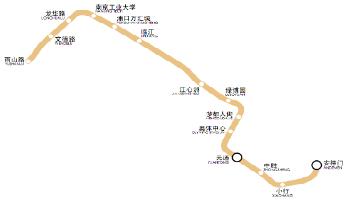 10号线(雨山路站—安德门站)