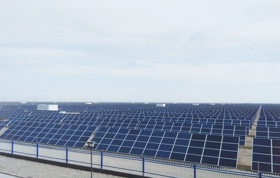 中电上海敦煌光电产业园20兆瓦光伏工程并网图片