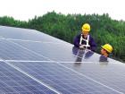 赣州信丰县70余户农户建起光伏发电站