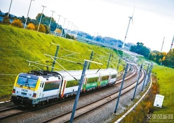 比利时首列以风力发电火车上路
