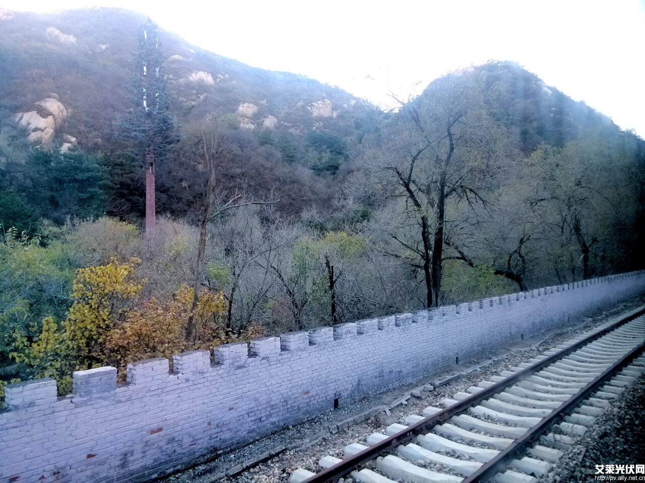 京张铁路青龙桥西站风景