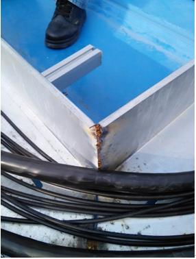 现场制作的电缆桥架直角弯头-寒潮来袭,光伏电站安全管理,你真的