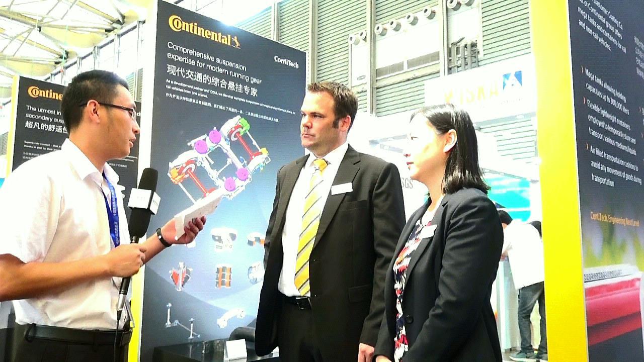 康迪泰克空气弹簧系统中国区总经理谭贝克专访