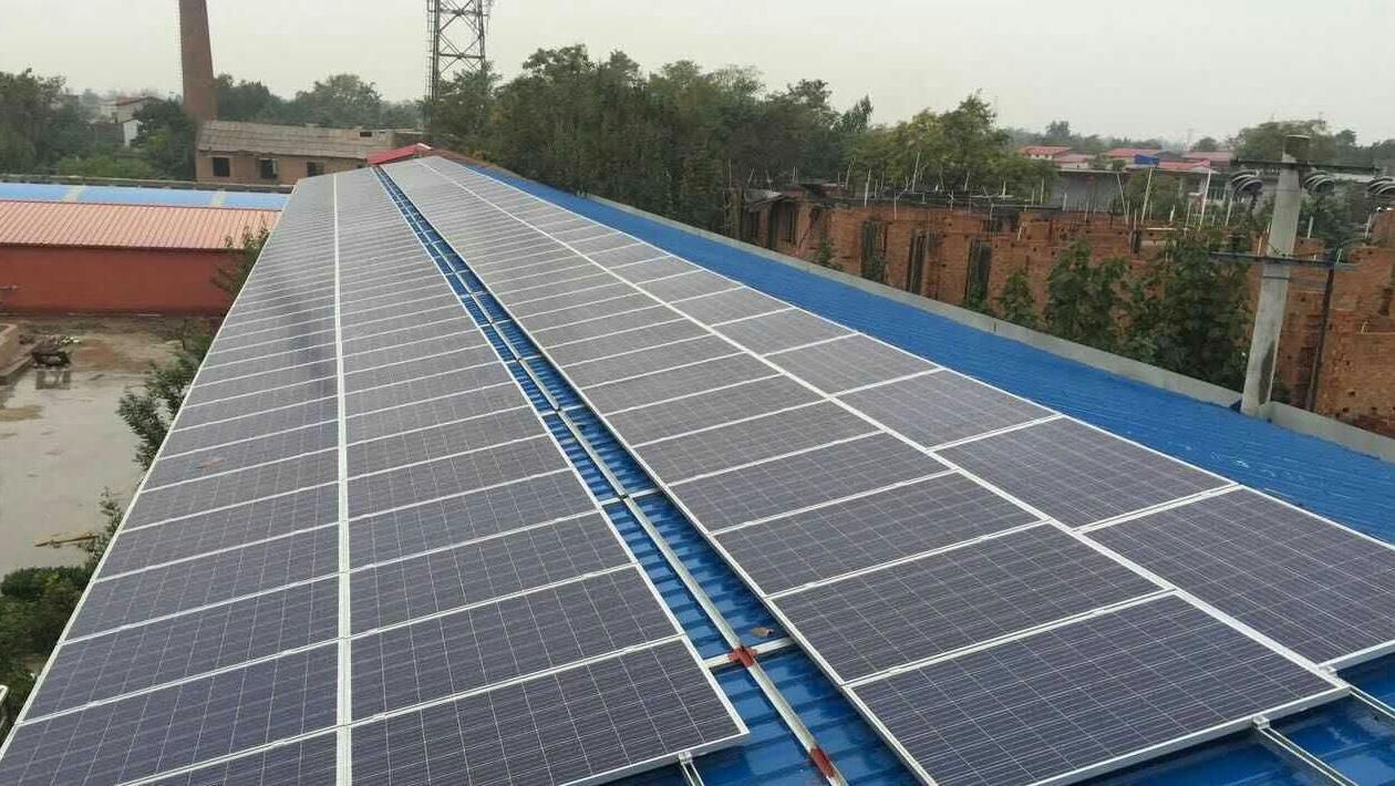 石家庄120kw光伏电站并网发电,逆变器选首航新能源品牌