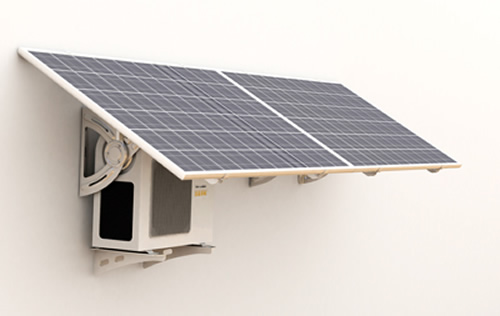 且光伏直驱变频多联机系统,使用太阳能发电直接驱动空调,可以省去并网