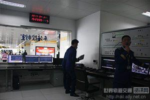 车站控制室情况