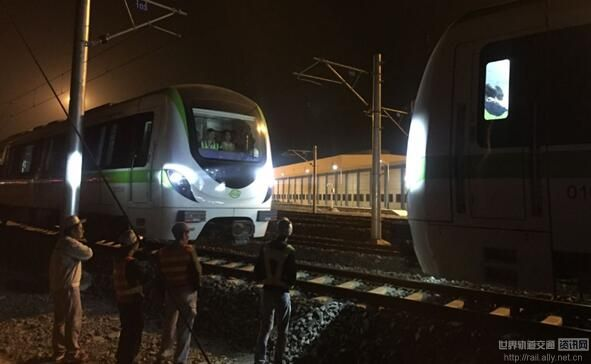 贵阳轨道接通1号线电客车顺利完成型式试验