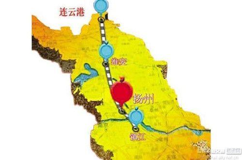 高铁新时代:连淮扬镇铁路沿途共设16站,云集众多历史名城!
