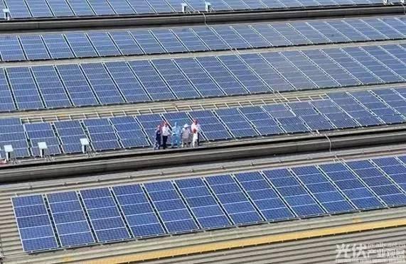 中山格兰仕屋顶光伏发电量破1亿千瓦时