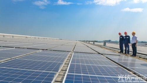 格兰仕中山绿色工厂的屋顶 发了一亿度电!