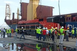 GE diesel locomotives arrive in Angola - Enterprises - 世界