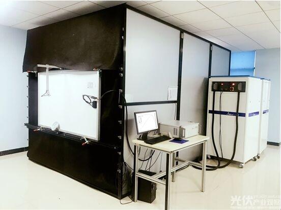 陕西众森推全球首台直射式长脉冲太阳模拟器