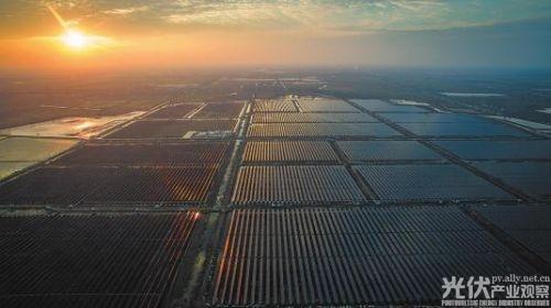 扬州市宝应县入选2017年全国光伏发电领跑基地