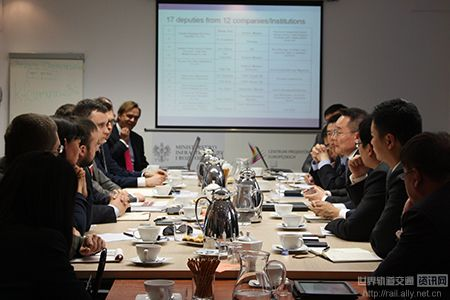 2014年6月赴波兰、捷克开展轨道交通产业投资促进活动