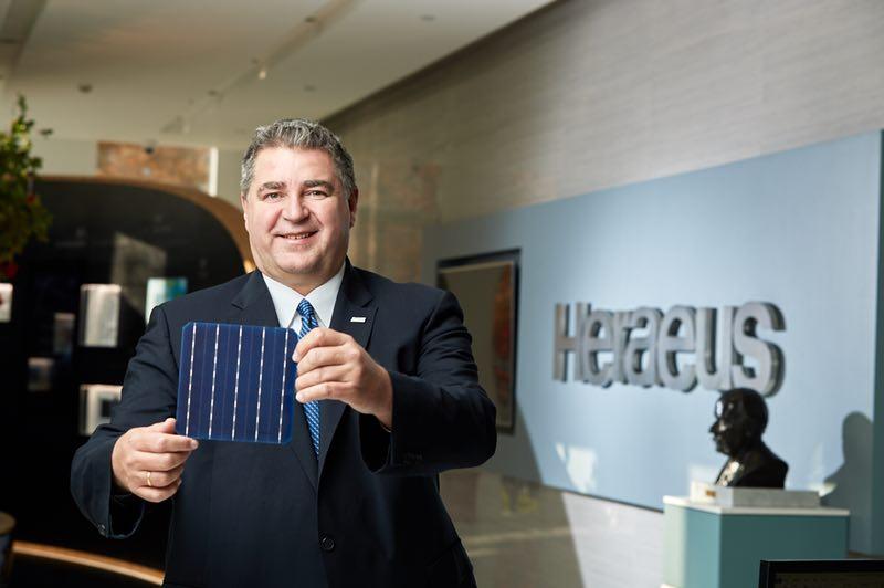 贺利氏全力支持中国的清洁能源战略