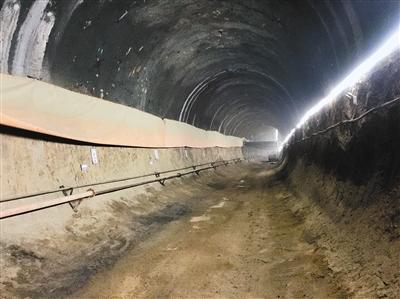 西安地铁9号线唯一纯人工暗挖区间预计明年8月底洞通