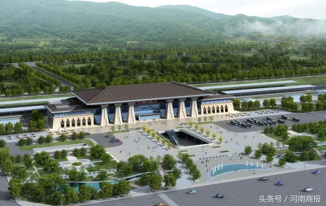 郑万铁路河南段7车站已开建 明年将建成
