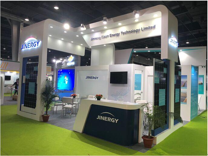 晋能科技亮相印度可再生能源展