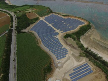正信光电高组件保障日本宫古岛项目运行
