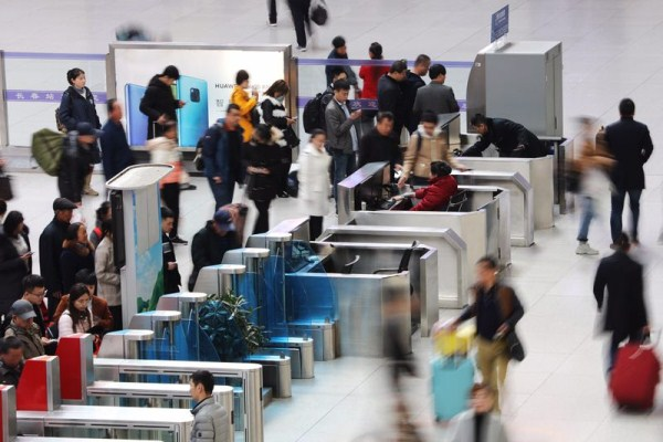 Changchun railway station rides Qingming travel boom