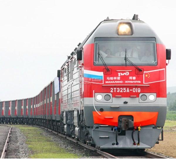 Cargo volume hits new high at Hunchun railway port