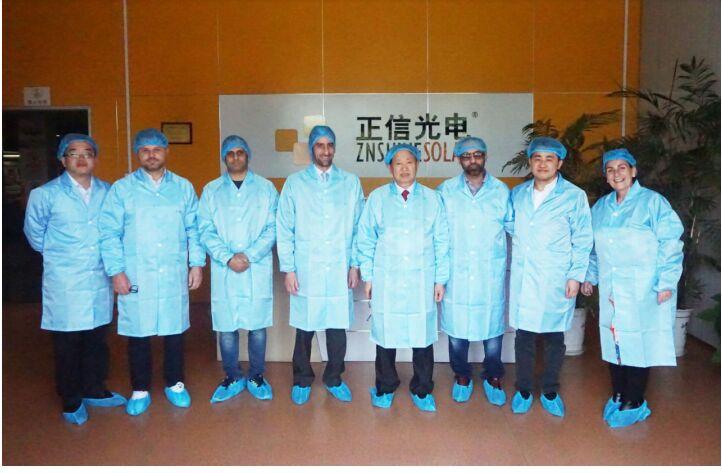正信光电与迪拜DEWA签订100MW组件供货协议