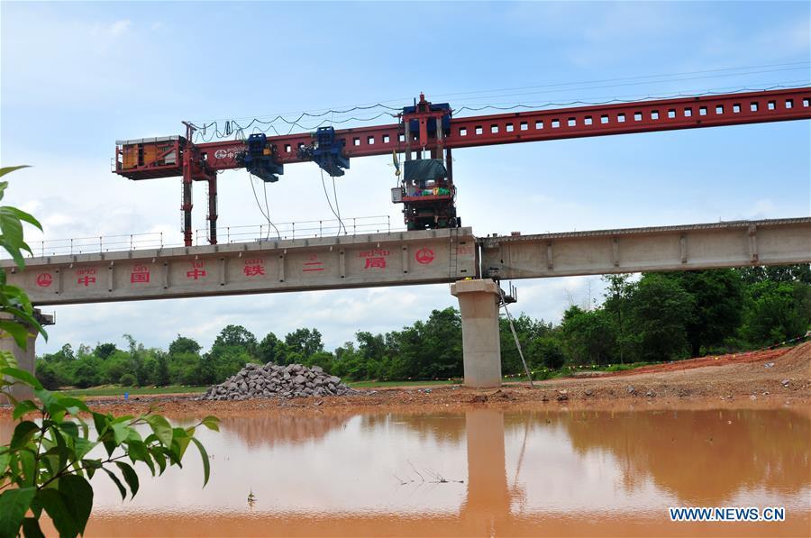 LAOS-NAM KHONE SUPER MAJOR BRIDGE-CONSTRUCTION