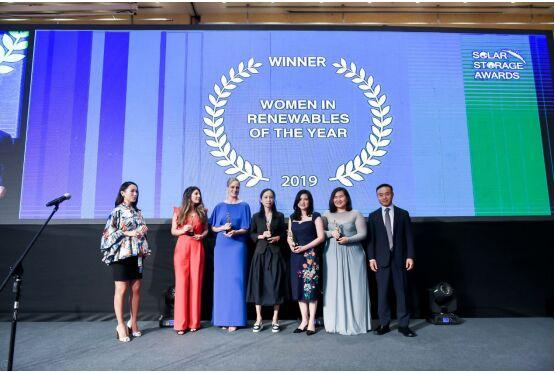联盛新能源出席WiRA年度女性人物颁奖典礼