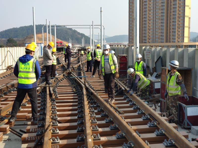 贵阳轨道交通2号线二期工程顺利复工