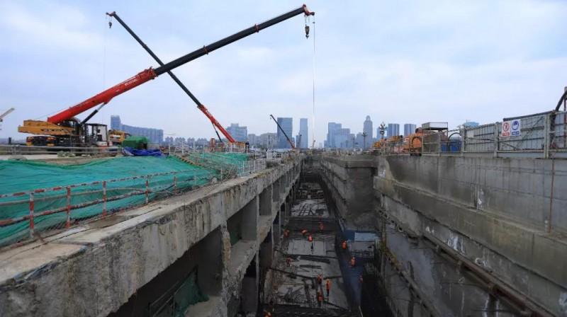 成都地铁在建5线6项目全面复工