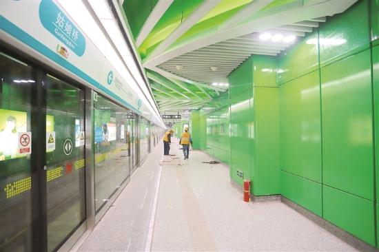 杭州地铁5号线终点站进入收尾阶段